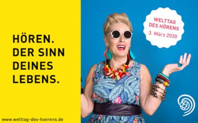 Welttag des Hörens 2020: BVHI, Hörakustiker und HNO-Ärzte fordern Hörscreening ab 50