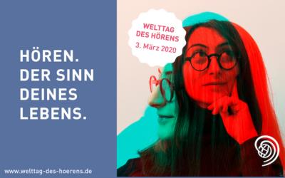 Zum 10. Mal in Deutschland: In einem Monat ist Welttag des Hörens